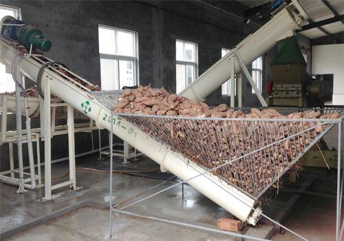 小型日产5吨红薯淀粉生产线